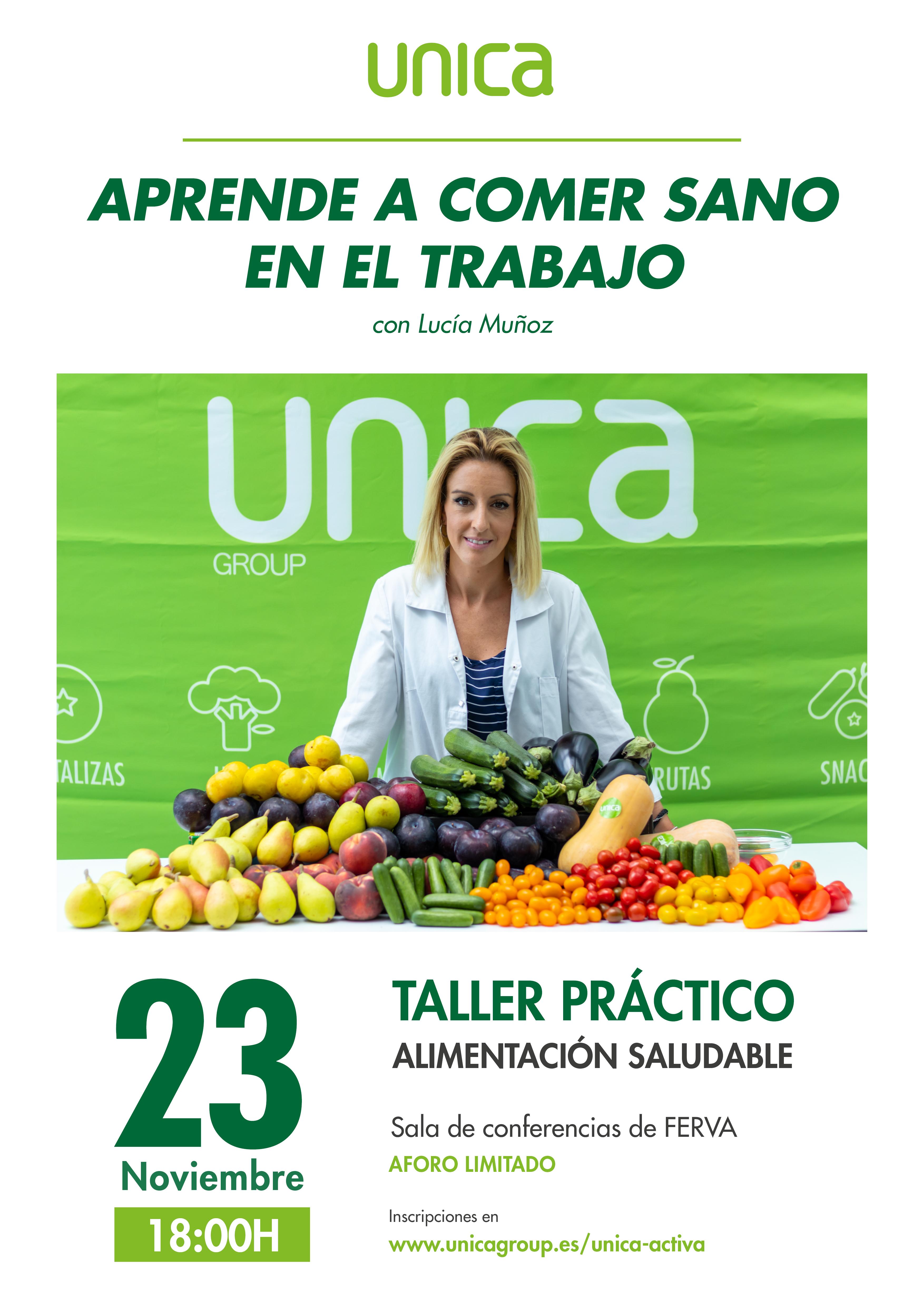 Taller práctico alimentación saludable
